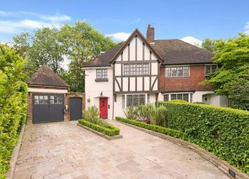 Thumbnail 4 bed semi-detached house for sale in Cornwood Close, Hampstead Garden Suburb, London