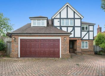Thumbnail 5 bed detached house for sale in Green Curve, Nork, Banstead