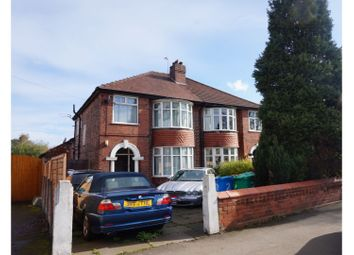 Thumbnail 4 bedroom semi-detached house for sale in Barlow Moor Road, Chorlton