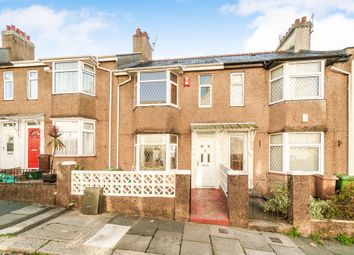 Thumbnail 3 bed terraced house for sale in Bridwell Road, Plymouth