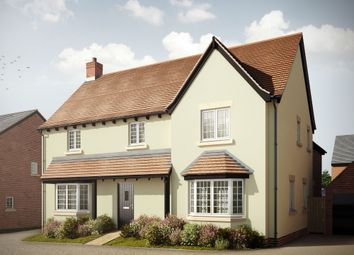 "Thumbnail 4 bedroom detached house for sale in ""The Brackley"" at Holden Close, Biddenham, Bedford"