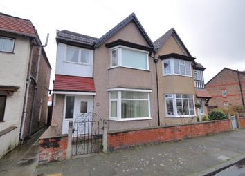 Thumbnail 3 bed semi-detached house for sale in Sudworth Road, New Brighton, Wallasey