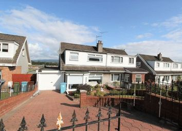 Thumbnail 3 bedroom semi-detached house for sale in Perran Gardens, Moodiesburn, Glasgow