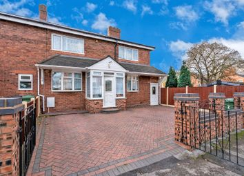Thumbnail 3 bedroom end terrace house for sale in St. Clements Avenue, Walsall