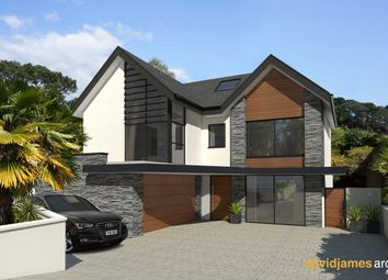 Thumbnail 4 bed detached house for sale in Compton Avenue, Poole, Dorset