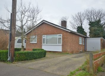 Thumbnail 2 bedroom detached bungalow to rent in Holme Close, Oakington, Cambridge