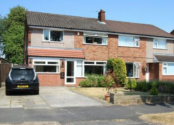 Thumbnail 4 bed semi-detached house for sale in Woburn Drive, Hale, Altrincham