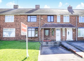 Thumbnail 3 bed terraced house for sale in School Lane, Bushbury, Wolverhampton