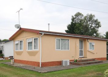 Thumbnail 2 bed mobile/park home for sale in Devon Close, College Town, Sandhurst