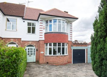 Thumbnail 3 bedroom semi-detached house for sale in Prince George Avenue, Southgate