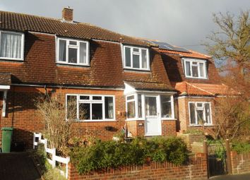 Thumbnail 3 bed terraced house to rent in Radstock Way, Merstham, Redhill