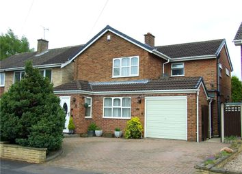 Thumbnail 3 bed detached house for sale in Kedleston Close, Allestree, Derby
