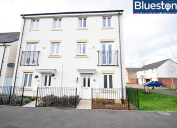 Thumbnail 4 bedroom town house for sale in Brinell Square, Newport