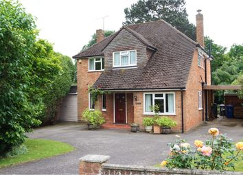 Thumbnail 4 bed detached house for sale in Clarefield Drive, Maidenhead