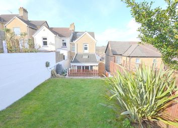 Thumbnail 2 bedroom semi-detached house for sale in Churchill Road, Parkstone, Poole