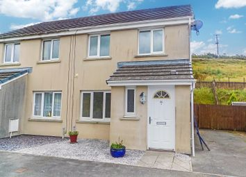 3 bed semi-detached house for sale in Heol Llwynffynon, Llangeinor, Bridgend. CF32