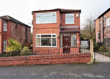 Thumbnail 3 bed detached house for sale in Ellbourne Road, Manchester