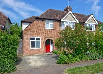 Thumbnail 4 bed semi-detached house for sale in Eachard Road, Cambridge