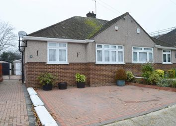 Thumbnail 2 bedroom bungalow for sale in Rossall Close, Hornchurch