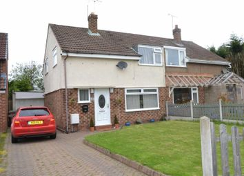 Thumbnail 3 bed semi-detached house for sale in Wingate Road, Eastham, Wirral