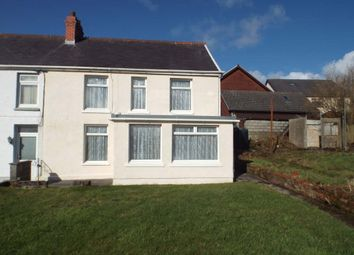 Thumbnail 3 bed semi-detached house for sale in Heol Yr Ysgol, Cefneithin, Cefnithen, Carmarthenshire