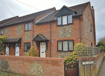 Thumbnail 3 bed end terrace house for sale in The Green, Longwick, Princes Risborough