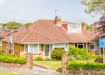 Thumbnail 3 bed semi-detached bungalow to rent in Elvin Crescent, Rottingdean, Brighton