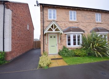 Thumbnail 3 bed semi-detached house to rent in Richardson Way, Derby