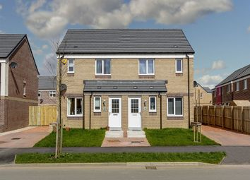 "Thumbnail 3 bed semi-detached house for sale in ""The Ardbeg"" at Dunlop Road, Stewarton, Kilmarnock"