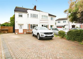 Thumbnail 4 bed semi-detached house for sale in Mersham Gardens, Goring-By-Sea, Worthing, West Sussex