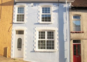 Thumbnail 3 bed terraced house to rent in Edwards Street, Tonypandy, Rhondda, Cynon, Taff.