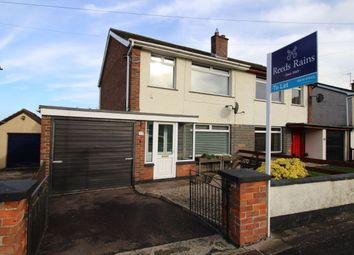 Thumbnail 3 bed semi-detached house to rent in Legacurry Road, Lisburn
