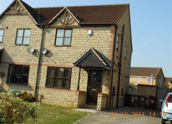 Thumbnail 3 bed semi-detached house to rent in Tilia Close, Scunthorpe