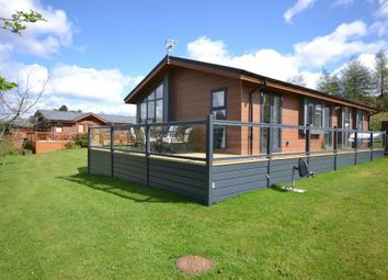 Thumbnail 2 bed bungalow for sale in Show Lodge Plot 21, Riverview Holiday Park Mangerton Newcastleton