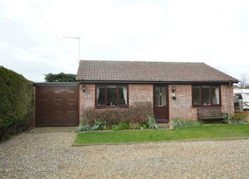 Thumbnail 2 bed detached bungalow for sale in Fakes Road, Newport, Hemsby, Great Yarmouth