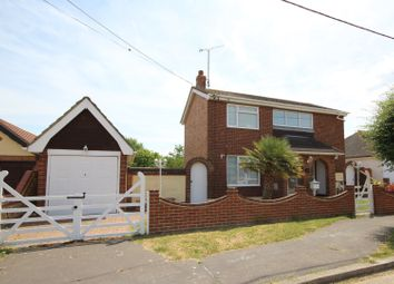Thumbnail 3 bed detached house for sale in Welbeck Road, Canvey Island