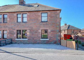 Thumbnail 2 bed flat for sale in Crathie Avenue, Dumfries