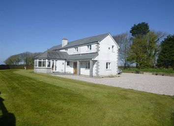 Thumbnail 4 bed detached house to rent in Hersham, Stratton, Cornwall