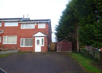 Thumbnail 3 bedroom semi-detached house to rent in Foxglove Court, Shawclough