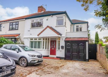 Thumbnail 4 bed semi-detached house for sale in Roby Road, Liverpool