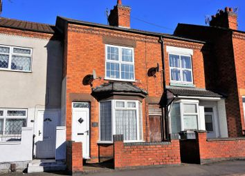 Thumbnail 2 bed terraced house for sale in Gipsy Lane, Leicester