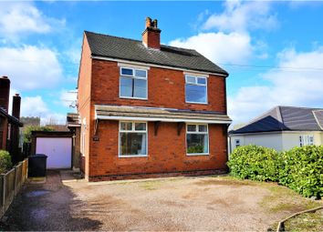 Thumbnail 3 bed detached house for sale in Burton Road, Woodville, Swadlincote