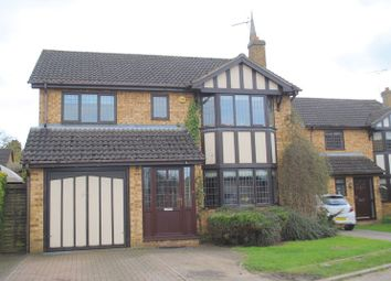 Thumbnail 4 bed detached house for sale in Dovecote Close, Raunds, Wellingborough