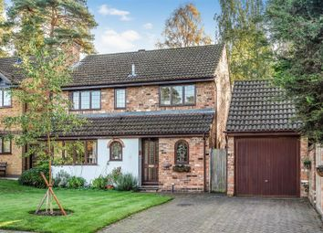 Thumbnail 4 bed detached house for sale in The Brackens, Crowthorne, Berkshire