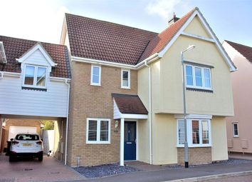 Thumbnail 4 bed detached house for sale in Birch Road, Dunmow