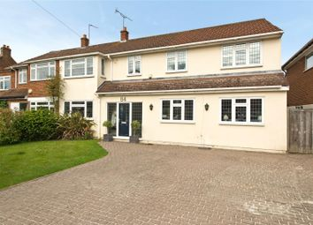 Thumbnail 6 bed semi-detached house for sale in Grove Way, Esher, Surrey