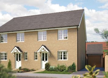 "Thumbnail 4 bed property for sale in ""The Salisbury"" at Silfield Road, Wymondham"