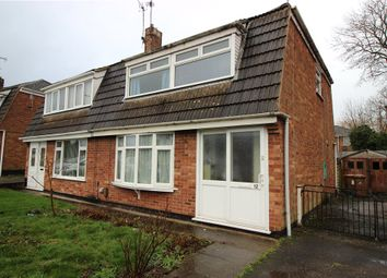 Thumbnail 3 bed semi-detached house for sale in Freeman Avenue, Sunnyhill, Derby