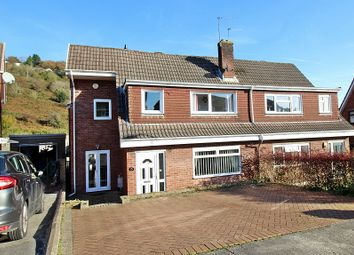 Thumbnail 4 bed semi-detached house for sale in Greenlands Road, Llantrisant, Pontyclun, Rhondda, Cynon, Taff.