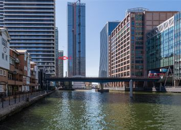 Thumbnail Studio for sale in Landmark Pinnacle, West Ferry Road, Canary Wharf